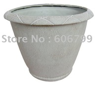 wholesale 15in fiberglass garden urn supplier from china/garden planter(1pcs/lot)