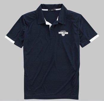 Vancl Wimbledon Tennis Jersey Polo (Men's) Navy Blue