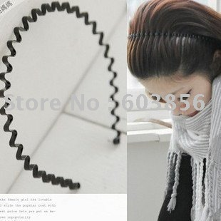 Free shipping 50 pieces/lot wave pattern hairpin hair clip , hair band ,headband, head accessory