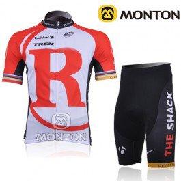 Livraison gratuite 2011 Tour de france nouvelle Radio Shack cycling team jersey + shorts taille s - xxxl(China (Mainland))