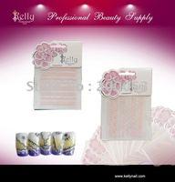 Free shipping 30pcs/lot pink soft lace nail decoration nail art sticker