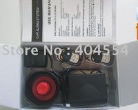 Free Fedex Shipping 10sets/lot HA-100A Universal One Way Remote Control Car Alarm System