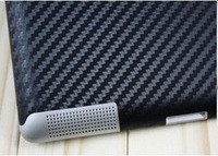 Carbon back skin for ipad 2 Carbon back protector for ipad 2 Anti-scratch proof Free shipping 5pcs