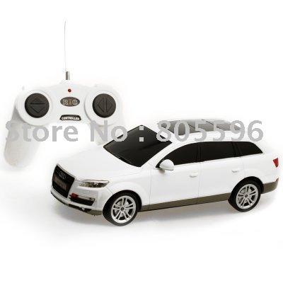 Hot! 1:24 Audi Q7 Car Model, 4CH R/C Remote Control Car, Micro Racing Car drop shipping(China (Mainland))