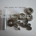 Custom made/free shipping/Chrome steel 627zz deep groove ball bearings