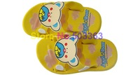 Free shipping kid's Slippers shoes 10pairs/lot NEW Arrival  pink yellow red blue