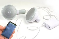 500XL Giant Earphone Shape Desktop Earbud Speaker Earphone Amplifier Megaphone 5pcs/lot