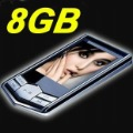 "Free Shipping!!!8GB Slim 1.8""LCD MP3 MP4 FM Radio Player Video+"