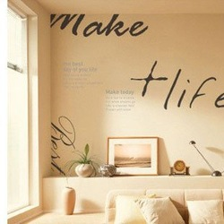Free shipping/Wholesale And Retail Hold Fast To Dreams Wall stickers house decorative decals,B-06(China (Mainland))