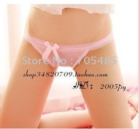 Lovely, bowknot, cotton gauze, underwear, multiple color underwear woman