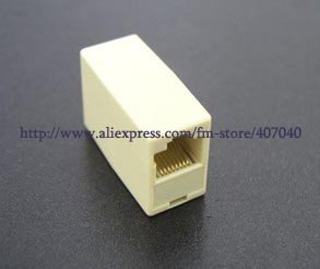 RJ45 Ethernet Network LAN Cable Extension Adapter