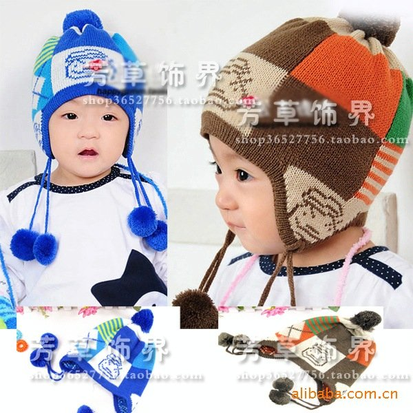 babay/toddler/infant/baby/kids Korean style hat hats cap caps cute lovely 9684 -free shipping(China (Mainland))