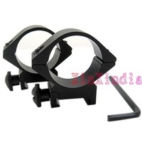 10 PCS/lot 30mm Ring Double aluminum scope Mount Flashlight Mount Gun Mount(30DK)(SKU:0444)