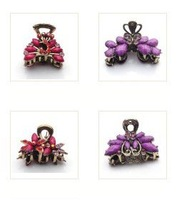 Free Shipping 10pcs/lot Mix Style Hair Clip Hair Ornaments 3x6cm HJ07