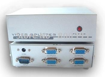 250 HMZ VGA Splitter (Video Splitter), 4 ports Video Signal Splitter