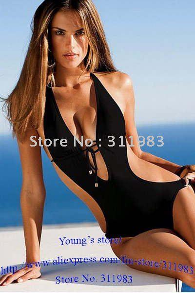Swimwear   Fashion Swimsuits on Sexy Swimwear  Fashion Swimsuit  Sexy Monokini  Free Size  Dl3059g