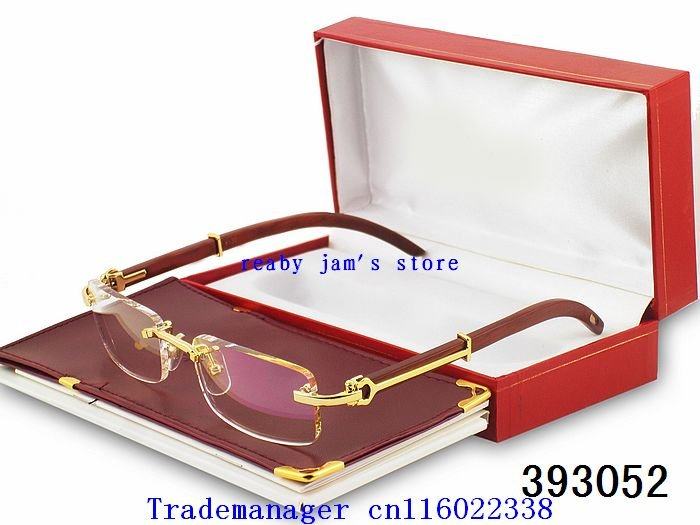 Wholesale - free shipping - Vogue Fangle Vision Care Rimless Glasses Spectacle frames Eyeglass Framess,gfcgf053(China (Mainland))