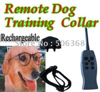 Free shipping **10pcs/Lot ** ( 2 dog )Rechargeable VIBRATION + STATIC SHOCK 6 LEVELS SMALL/MEDIUM/BIG STUBBORN DOG REMOTE TRAIN