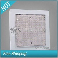 12W 196 LED Warm White Ceiling Mount Lamp Light 220V #002530-054