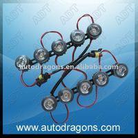 10Watt high power flexible universal led DRL, high quliaty,competitive price
