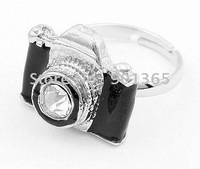 Personalized fashion camera ring& Free shipping