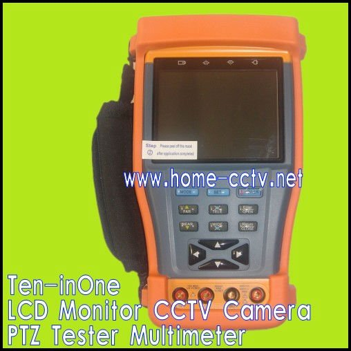 Ten-in One LCD Monitor CCTV Camera tester(China (Mainland))