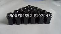 16 LIGHT BLACK 12x1.5 35MM WHEELS LUG NUTS 7075
