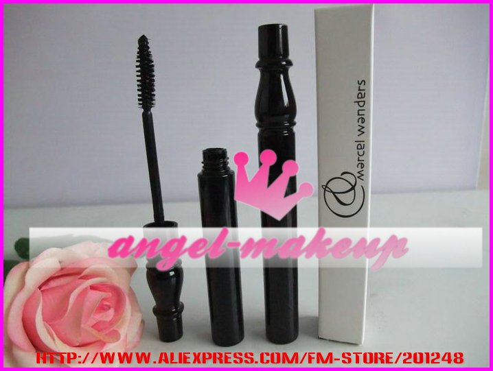 Free Shipping New marcel wanders false black mascara 8g(60 pcs/lot)(China (Mainland))