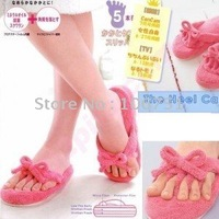 Pink slippers (full advantage clinodactyly feet) join collection