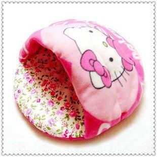 50 * 50 * 35 centímetros chinelos rosa médias forma de lã quente cama do animal de estimação casa / cão(China (Mainland))