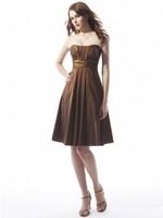 2011 the most attractive free ship latest design formal silk short  evening  dress / eveving gown/ party dress /prom dress