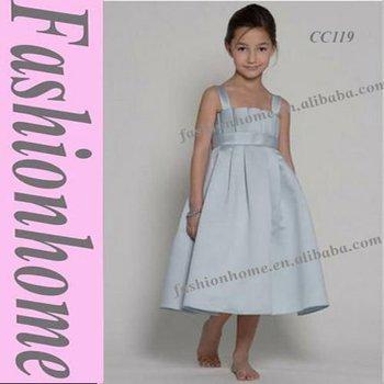 Simple toddler dress, Flower girl dress, Formal kids dress CC119