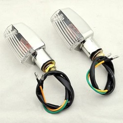 Best Selling 10 x Front/Tail Turn Signal Light Motorcycle Scooter 4x4 Wholesale Free Shipping [P04](China (Mainland))
