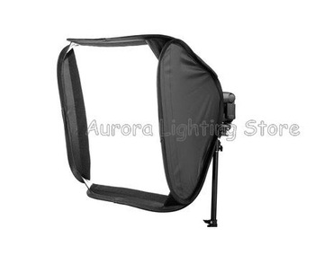 "Free shipping whole sale hot item!!! Easy-Fold speedlite softbo E-40cmx40cm Photography Equipment 16"" x 16"" speed gun Softbox"
