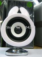Free shipping cute rabbit mini speaker/ novelty mini speaker