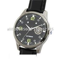 2011 New Brief Design Calendar Men's Watch Classical Black