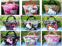 9CS New Hello kitty cute lunch bag Girls Handbag #B