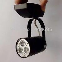 10pcs 3W led track light / ceiling spotlight / stand lamp / commercial lighting / 3*1w led track spotlight