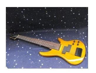 H&S 7 string electric bass