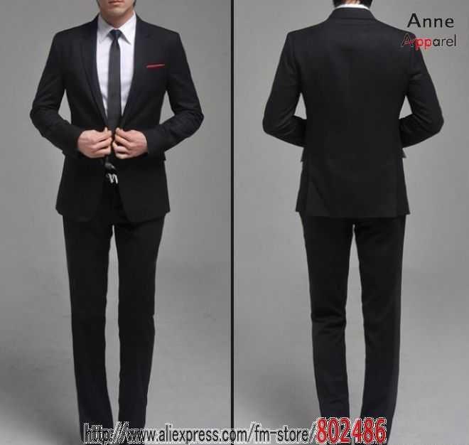 Black Suits For Men Wedding Men Wedding Suit Black