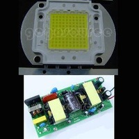 100W White High Power 8000LM LED Lamp light + AC Driver