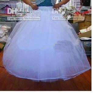 beautiful Wedding Dress Crinoline / Prom Gown/Petticoat / Underskirt Petticoats 0981(China (Mainland))