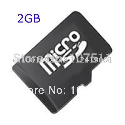 FREE SHIPPING 200pcs/lot 2GB MICRO SD CARD TransFlash Card TF CARD 2G 2GB microSD CARD(China (Mainland))