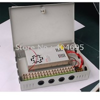 Free shipping 18CH 12V 30A CCTV power supply box / 12V 30A 360W monitor power supply / switch power supply