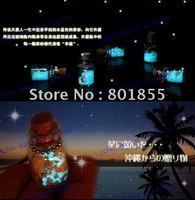 Fluorescence Star  sand / sand Okinawa Love, Lucky Love Sand, phone chain.4 pc/lot