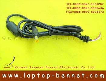 1.2-1.5 Meter DC Tip Plug Connector with Cord 4.8 x 1.7 mm FOR HP Compaq