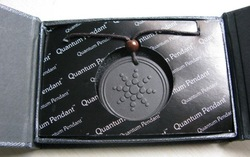 Wholesale - Quantum Science Scalar Energy Pendant With Product Registration Card 10pcs/lot(China (Mainland))