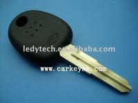 "Good quality Hyundai transponder key shell with letter ""V"" on the blade"