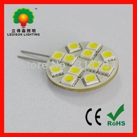 2W LED G4 light bulb 12leds diameter31mm DC12V LED G4 light