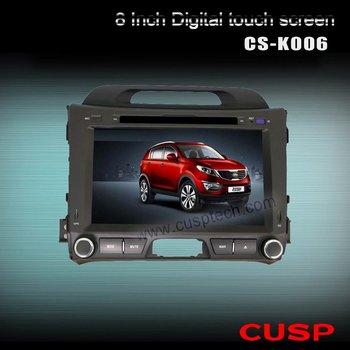 Car DVD player with GPS for KIA Sportage 2010 2011